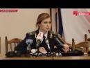 Малышка - прокурор Крыма. Наталья Поклонская. 12.03.2014.